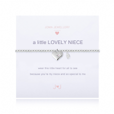 Joma Jewellery A little LOVELY NIECE Silver Plated Childs Bracelet